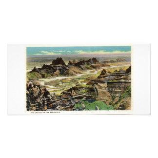 Os castelos, ermo, South Dakota Cartão Com Foto