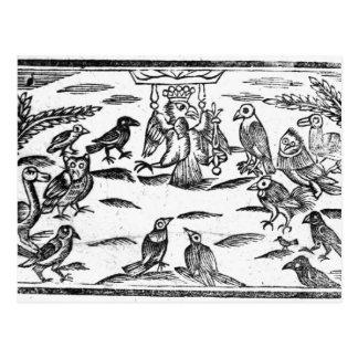 Os Choristers arborizados ou a harmonia dos Cartão Postal