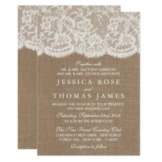 Cartão Os convites da coleção de serapilheira & de