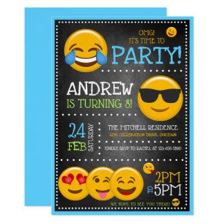 Os convites de festas de aniversários bonitos do