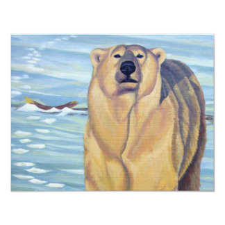 Os convites do urso personalizaram cartões da arte