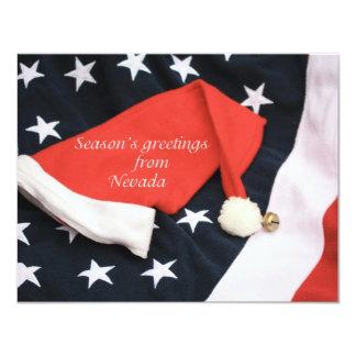 Os cumprimentos Nevada da estação americana Convites Personalizado
