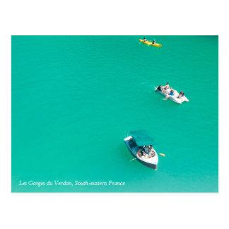 Os desfiladeiros Du Verdon Cartão Postal