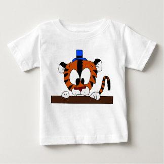 Os Doodles de Mike - espreitando para fora (o Camiseta Para Bebê