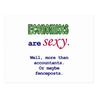 """Os economistas são """"sexy"""" cartão postal"""