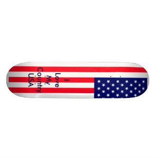 Os Estados Unidos embandeiram o MUSEU Zazzle - amo Skate