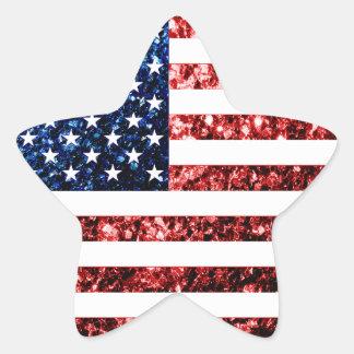 Os EUA embandeiram brilhos dos sparkles do Adesito Estrela