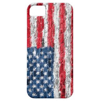 Os EUA embandeiram na capa de telefone do tijolo