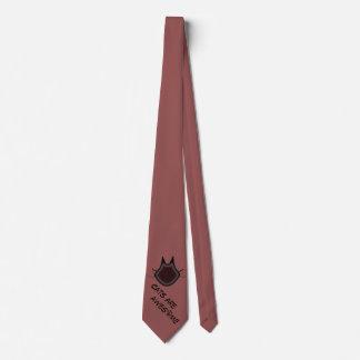 Os gatos são impressionantes gravata