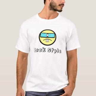 Os geeks são legal você não o obtêm? camiseta