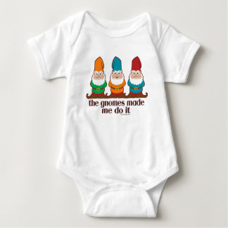Os gnomos fizeram-me fazê-lo t-shirts