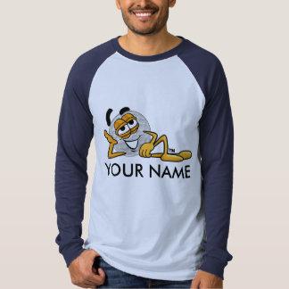 Os homens, logotipo T do golfe dos meninos T-shirts