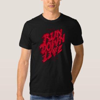 Os homens vivos da degradação t-shirt