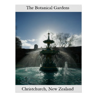 Os jardins botânicos impressão