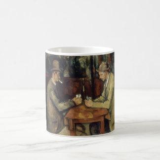 Os jogadores de cartão por Paul Cézanne 1895 Caneca De Café