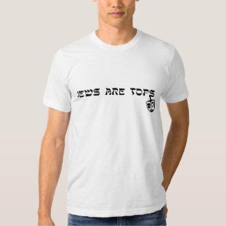 Os judeus são partes superiores t-shirts
