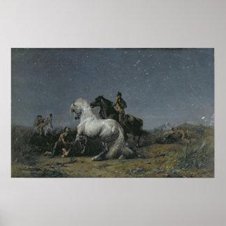 Os ladrões do cavalo, século XIX Posteres