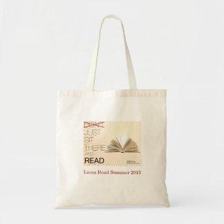 Os leões leram o saco de livro da leitura de 2013  sacola tote budget