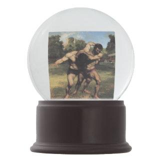 Os lutadores por Gustave Courbet
