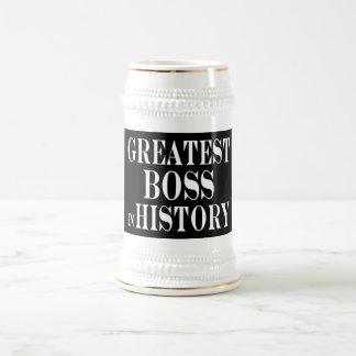 Os melhores chefes: O grande chefe na história Canecas