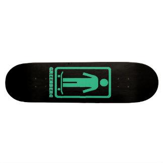 Os meninos de GREENBERG da etiqueta são melhores Shape De Skate 20,6cm