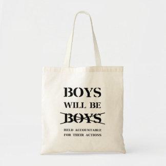 Os meninos serão o bolsa dos meninos (a praga