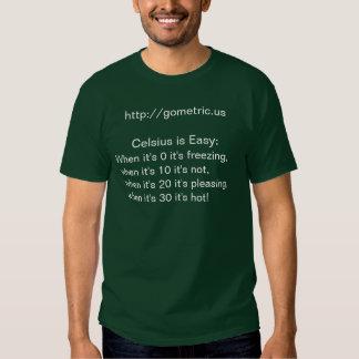 Os miúdos Celsius são rima fácil Tshirt