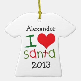 Os miúdos personalizaram o ornamento do feriado do