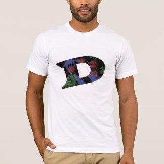 Os nomes que começam com o D T-shirt