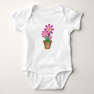 Os obrigados para ajudar-me crescem - a flor feliz camisetas