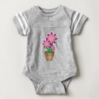 Os obrigados para ajudar-me crescem - a flor feliz t-shirt