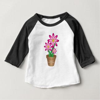 Os obrigados para ajudar-me crescem - a flor feliz t-shirts