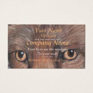 os ópticos eyes a imagem da arte do original dos cartão de visitas