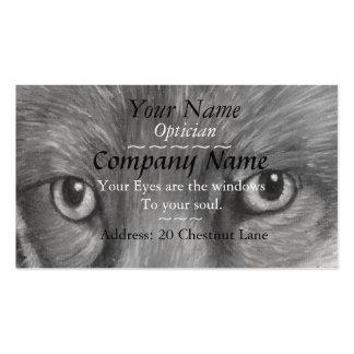 os ópticos eyes a imagem da arte do original dos cartão de visita