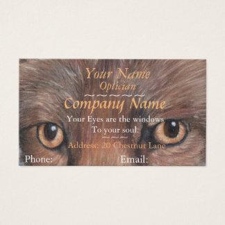 os ópticos eyes a imagem da nomeação da arte dos cartão de visitas