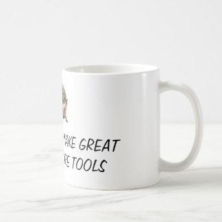 Os ouriços fazem grandes ferramentas da caneca de café