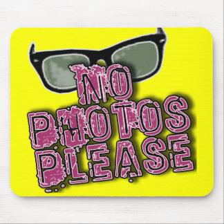 Os paparazzi nenhumas fotos satisfazem o camiseta  mousepads