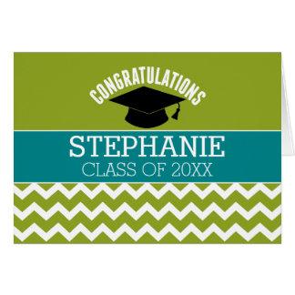 Os parabéns graduam - a graduação personalizada cartão comemorativo