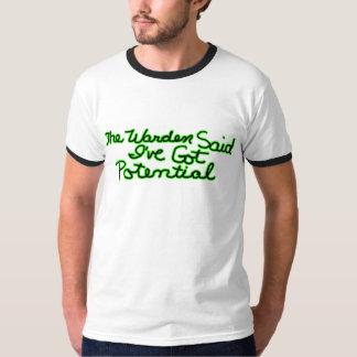 Os presentes das camisetas engraçadas do Warden