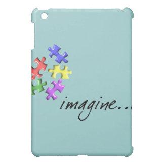 "Os presentes do apoio do autismo ""imaginam"" o desi capas para iPad mini"
