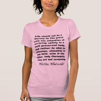 Os presentes engraçados das mulheres picam o tshirt
