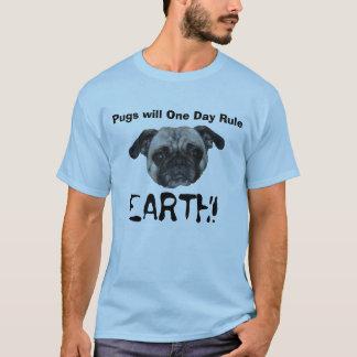 Os Pugs ordenarão! T-shirts