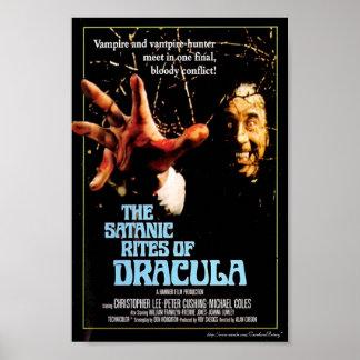 """""""Os ritos satânicos de 1973) cartazes cinematográf Poster"""