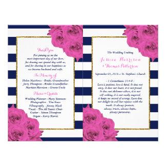 Os rosas Luxe modernos chiques do rosa da coleção Flyer