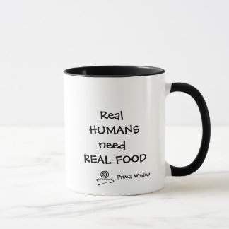 Os seres humanos reais precisam a caneca real da