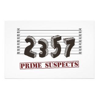 Os suspeitos do número principal papelaria