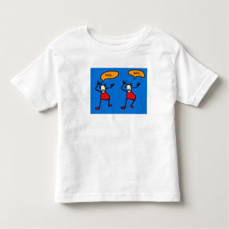 Os Tootsies azuis dizem olá! Camiseta Infantil
