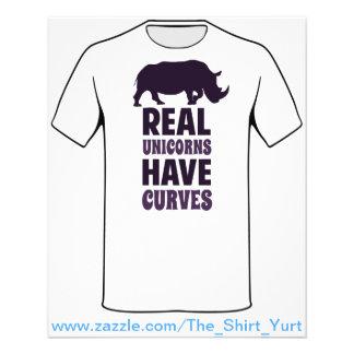 Os unicórnios reais têm curvas