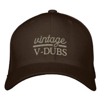Os V-Dubs do vintage bordaram o chapéu de Flexfit Boné Bordado