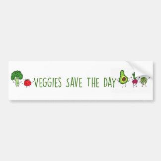 Os vegetarianos salvar o autocolante no vidro adesivo para carro